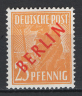 Germania Berlino 1949 Unif. 10B **/MNH VF - Ungebraucht