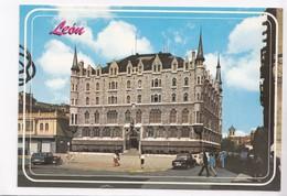 Leon, Plaza De San Marcelo, Spain, Unused Postcard [22393] - León