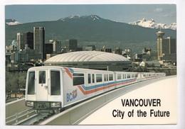VANCOUVER, City Of The Future, British Columbia, Canada, Light Rail Transit, Unused Postcard [22396] - Vancouver