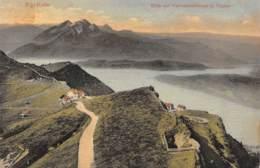 RIGI-KULM - Blick Auf Vierwaldstättersee U. Pilatus - SZ Schwyz
