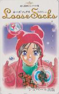 Télécarte Japon / 110-011 - MANGA EROTIQUE - U-JIN ** LOOSE SOCKS ** - EROTIC ANIME Japan Phonecard - BD COMICS 10930 - BD