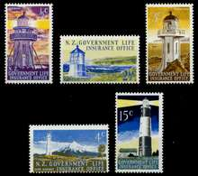 NEUSEELAND LVM Nr 39-43 Postfrisch S04B40A - Fiscaux-postaux