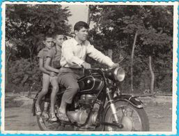 BMW - Old Motorcycle ... Original Vintage Photo * Motor Bike Motorbike Moto Motorrad Motociclo Motocicleta Motocicletta - Photographs