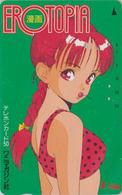 Rare Télécarte Japon / 110-71946 - MANGA - U-JIN ** EROTOPIA ** - ANIME Japan Phonecard - BD COMICS TK - 10934 - BD