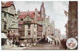 ADVERTISING : LONDON & NORTH WESTERN RAILWAY (LNWR) - JOHN KNOX'S HOUSE & HIGH STREET, EDINBURGH - Advertising