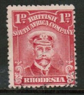 RHODESIA   Scott # 120 F-VF USED (Stamp Scan # 434) - Great Britain (former Colonies & Protectorates)