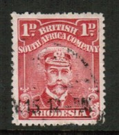 RHODESIA   Scott # 120 VF USED (Stamp Scan # 434) - Great Britain (former Colonies & Protectorates)