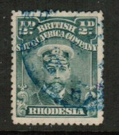 RHODESIA   Scott # 119 VF USED (Stamp Scan # 434) - Great Britain (former Colonies & Protectorates)