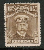 RHODESIA   Scott # 121 VF USED (Stamp Scan # 434) - Great Britain (former Colonies & Protectorates)