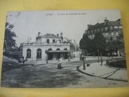 L11 4893 CPA 1908 - 75 PARIS LA GARE DE COURCELLES-LEVALLOIS - ANIMATION - Gares - Sans Trains