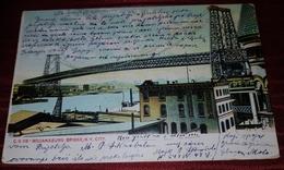 WILLIAMSBURG BRIDGE, NEW YORK CITY 1906. ORIGINAL VINTAGE POSTCARD - Bridges & Tunnels