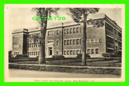 SUSSEX, NB - PUBLIC SCHOOL AND COLLEGIATE - PECO - WRITTEN - - Nouveau-Brunswick