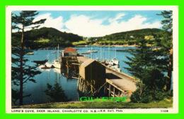 DEER ISLAND, NB - LORD'S COVE - WRITTEN - C. L. C. - - Nouveau-Brunswick