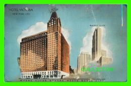 NEW YORK CITY, NY - THE NEW AND BEAUTIFUL HOTEL VICTORIA - E. C. KROOP CO - - Bars, Hotels & Restaurants
