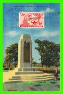 DAYTON, OH - WRIGHT BROS. MEMORIAL DEDICATED TO ORVILLE & WILBUR WRIGHT - PUB. BY H. A. BINGAMON - - Dayton