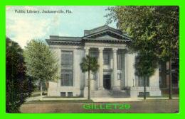 JACKSONVILLE, FL - PUBLIC LIBRARY - TRAVEL IN 1914 - - Jacksonville