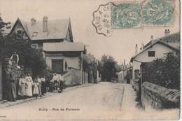 BUTRY.RUE DU PARMAIN.PERSONNAGES - Butry
