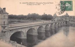 CHATELLERAULT Le Pont Et La Vienne 10(scan Recto-verso) MA1916 - Chatellerault