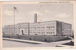 Pennsylvania Downingtown Junior-Senior High School 1938 Curteich - Other
