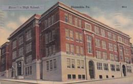 Pennsylvania Somerset Junior-Senior High School 1943 Curteich - Other