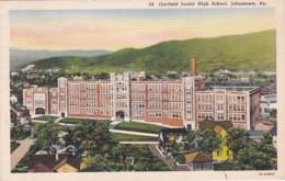 Pennsylvania Johnstown Garfield Junior High School 1938 Curteich - Other