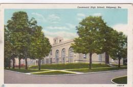 Pennsylvania Ridgway Centennial High School 1952 Curteich - Other