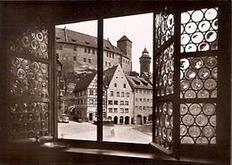 Nürnberg - Blick Auf Die Burg (752) - Nürnberg