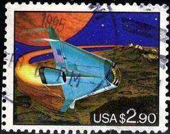 Futuristic Space Shuttle, USA Stamp SC#2543 Used. - Etats-Unis