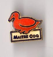PIN'S ENTREPRISE MAITRE COQ CANARD - Food