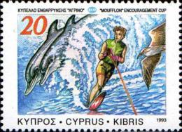 Chypre Poste N** Yv: 808 Mi:807II Moufflon Encouragement Cup - Chypre (République)