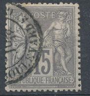 N°77  BEAU CACHET A DATE - 1876-1898 Sage (Type II)