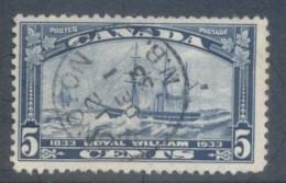 Canada 1933 Ship, Royal William FU - Unclassified