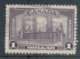 Canada 1937 KGVI Pictorial, $1 Chateau De Ramezay FU - Sin Clasificación
