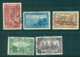 Canada 1938 KGVI Pictorials FU Lot68196 - Sin Clasificación