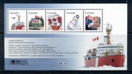 Canada 2012 Canada Flags MS MUH - 1952-.... Règne D'Elizabeth II
