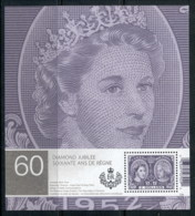 Canada 2012 QEII Diamond Jubilee MS MUH - 1952-.... Règne D'Elizabeth II