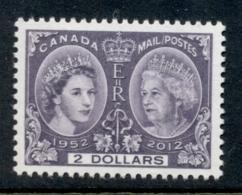 Canada 2012 QEII Diamond Jubilee MUH - 1952-.... Règne D'Elizabeth II