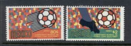 Mexico 1969 World Soccer Championships MUH - Mexico