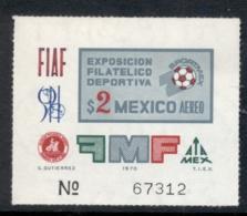 Mexico 1970 Sportmex MS MUH - Mexico