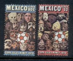 Mexico 1970 World Soccer Championships MUH - Mexico