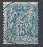 N°90 BEAU CACHET A DATE - 1876-1898 Sage (Type II)