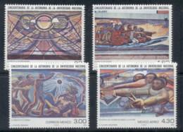 Mexico 1979 National University Paintings MUH - Mexico