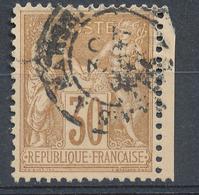N°80  BEAU CACHET A DATE - 1876-1898 Sage (Type II)