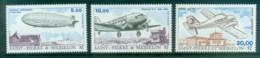 St Pierre & Miquelon 1988-89 Aircraft MUH - Canada