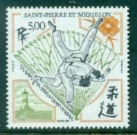 St Pierre & Miquelon 1989 Judo MUH - Canada