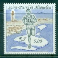 St Pierre & Miquelon 1990 25 Kilometer Race MUH - Canada