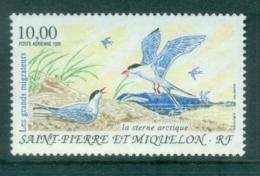 St Pierre & Miquelon 1995 Migratory Birds, Golden Plover MUH - Canada