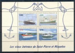 St Pierre Et Miquelon 1994 Old Ships MS MUH - Canada