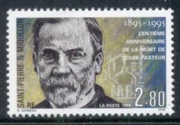 St Pierre Et Miquelon 1995 Louis Pasteur MUH - Canada