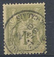 N°82  BEAU CACHET A DATE - 1876-1898 Sage (Type II)